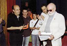 Nomenament de Rodolfo Candelaria com a soci d'honor